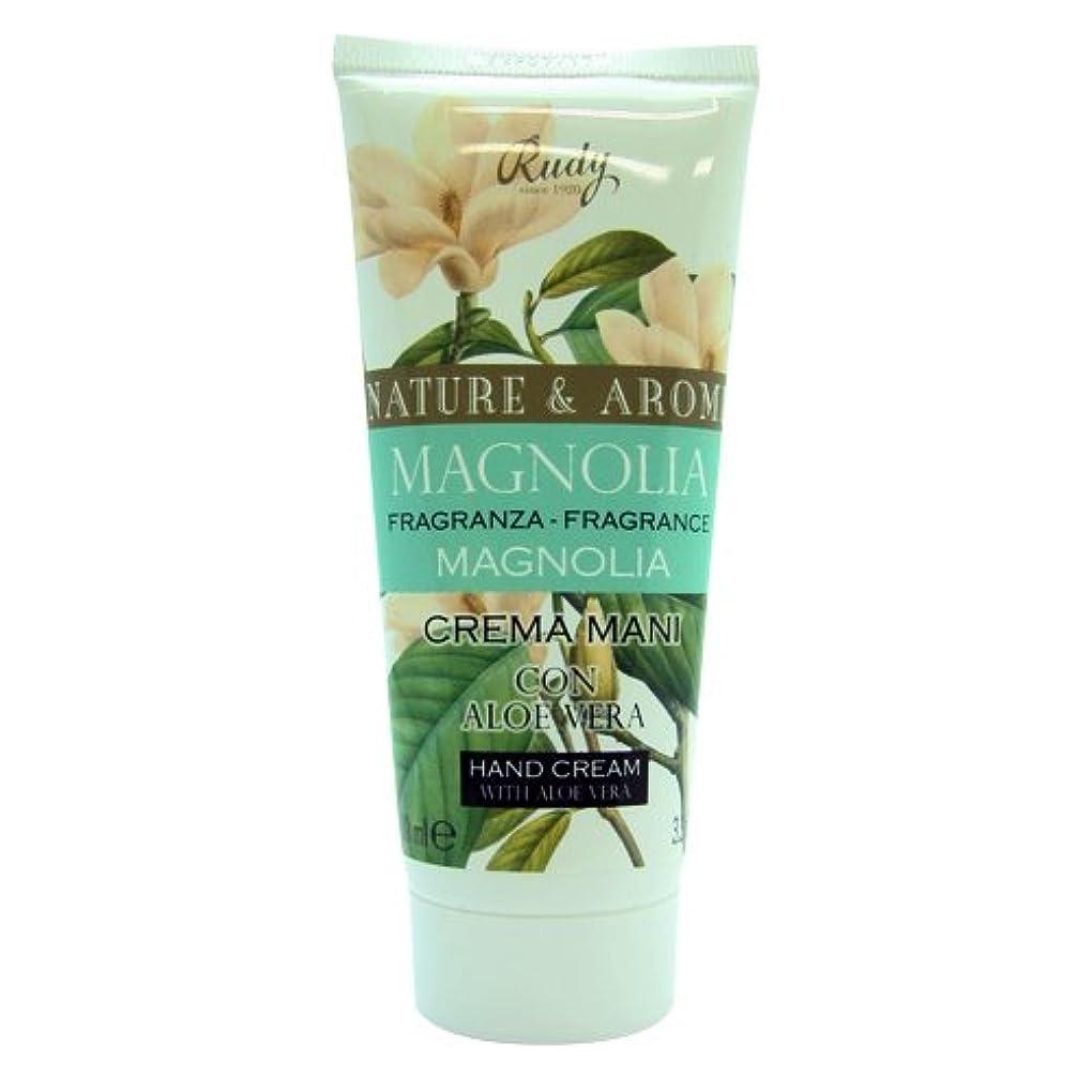 バタフライバッジチェスRUDY Nature&Arome SERIES ルディ ナチュール&アロマ Hand Cream ハンドクリーム  Magnolia マグノリア
