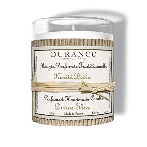 DURANCE - Vela perfumada de Karité Divino, aroma de karité