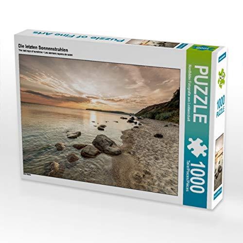 CALVENDO Puzzle Die letzten Sonnenstrahlen 1000 Teile Lege-Größe 64 x 48 cm Foto-Puzzle Bild von Nordbilder Fotografie aus Leidenschaft