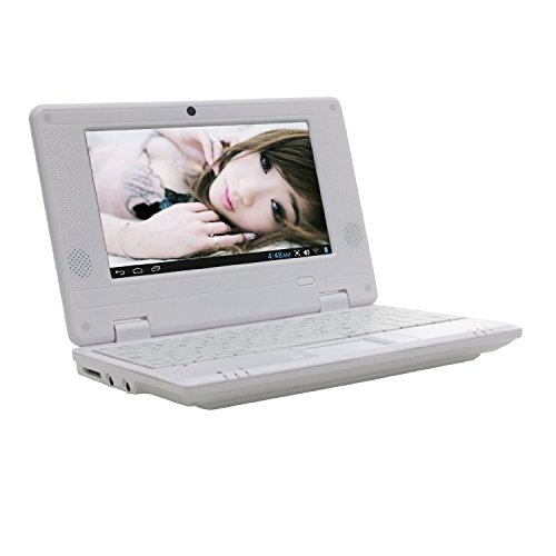 New 4Gb White 7 Inch Mini Laptop Netbook. Android 2.2. Latest Software. Latest Build., [Importado de UK]