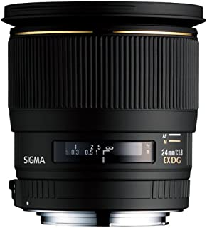 SIGMA 単焦点広角レンズ 24mm F1.8 EX DG ASPHERICAL MACRO ニコン用 フルサイズ対応