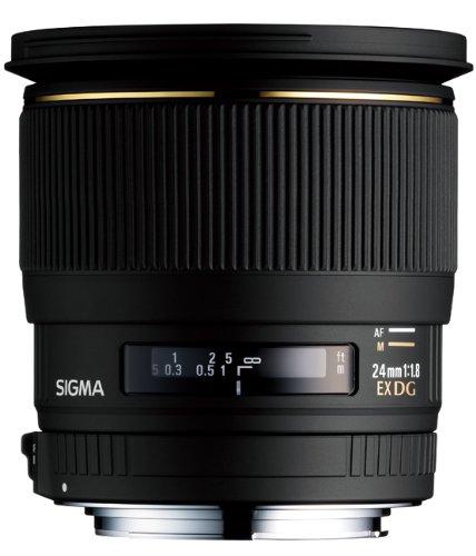 SIGMA 単焦点広角レンズ 24mm F1.8 EX DG ASPHERICAL MACRO キヤノン用 フルサイズ対応