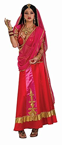 Rubie's Damen Kostüm Bollywood Beauty Inderin zu Karneval Fasching Gr.36-40
