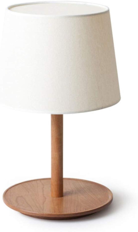 Im Skandinavischen Stil Moderne Minimalistische Stoff Wohnzimmer Schlafzimmer Massivholz Tischlampe B07JHVB63V | Mittlere Kosten