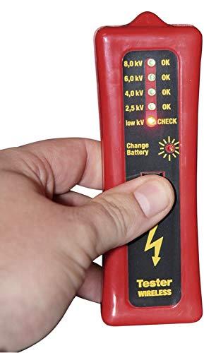 Zaunprüfer mit LED-Anzeige