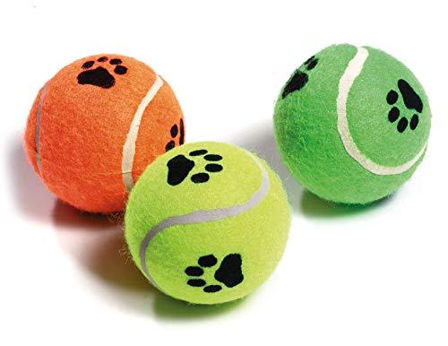 Karlie Tennisbälle mit Squeeker ø: 6 cm farblich sortiert