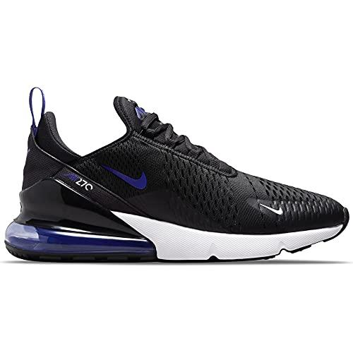 Nike Zapatillas para hombre Air Max 270 Essential color negro, Schwarz Black Persian Violet White, 41 EU