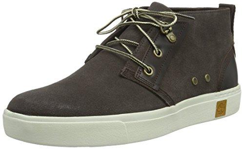 Timberland Men's Amherst Chukka Fashion Sneaker, Brown, 9 M US