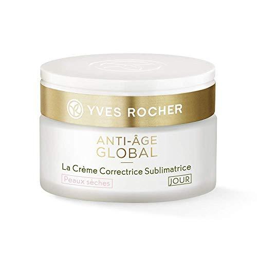 Yves Rocher ANTI-AGE GLOBAL korrigierende Schönheits-Creme Tag für trockene Haut, Anti-Falten...