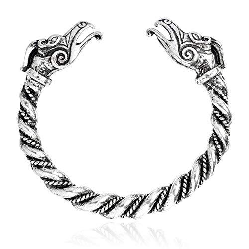 Pulsera De Acero Inoxidable Accesorios De Moda Hombres Pulseras Gemelos Nueva Pulsera De Viking para Las Mujeres De Los Brazaletes