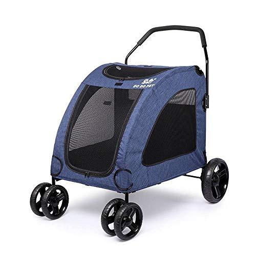 Axiba Haustier Kinderwagen Riese Dog Cart und Alten Hund Reisen Warenkorb