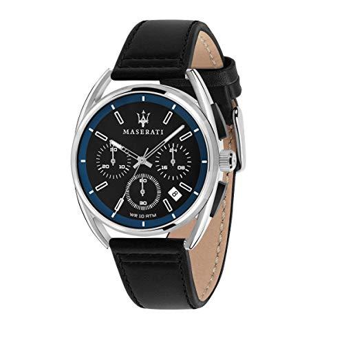 Orologio da uomo, Collezione TRIMARANO, in acciaio, cuoio - R8871632001