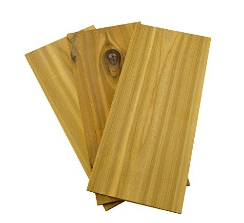 Charcoal Companion Cedar Wood Grilling Planks, Set of 3