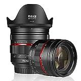 Meike MK-50 mm F1.2 lente fija de gran apertura de marco completo, enfoque manual, compatible con cámaras Canon EOS EF