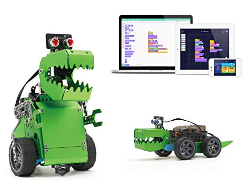 Robobloq Q-Dino Programming Robot Kit for Scratch Arduino Learner,STEM Education Toys Helps Improve Children