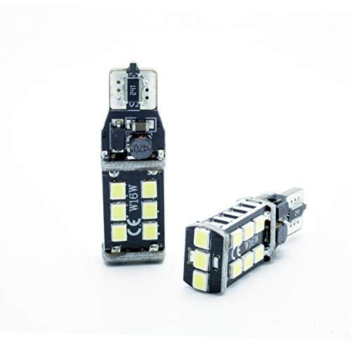 ledpremium 2x T15 W16W CANBUS LED REVERSE LIGHT BACKUP LUZ MARCHA ATRAS