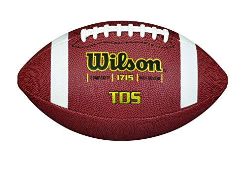 WILSON Unisex-Adult TDS Composite Official SI American Footbal, Size, Einheitsgröße