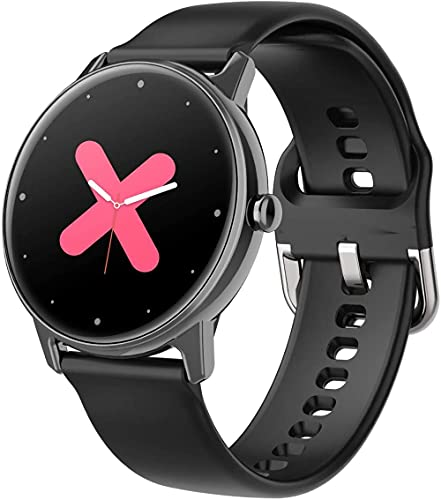 JSL Adecuado para Android e Ios relojes inteligentes impermeables adecuados para Android e iOS, con pantalla táctil a color completo
