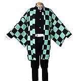 YKJ Disfraz de Anime Juego de Disfraces Hombre Kimono Disfraz Conjunto Completo de Halloween,Full Set-XXL