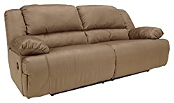 Ashley Furniture Signature Design - Hogan Reclining Sofa- best sofa for back support