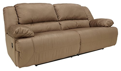 Signature Design by Ashley Hogan 2-Seat Reclining Sofa Mocha