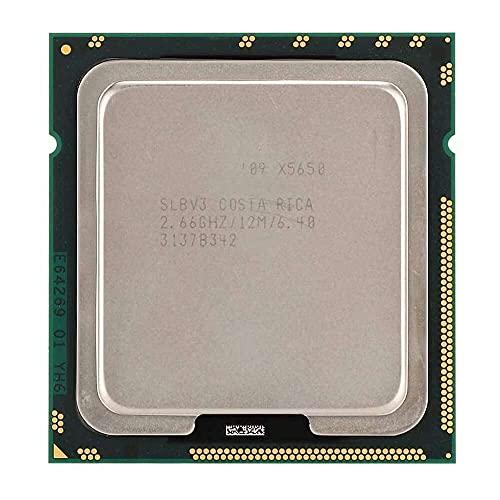 Yuyanshop Para Intel Xeon X5650 de seis núcleos de doce hilos 2.66GHz 12M caché LGA1366 CPU versión oficial
