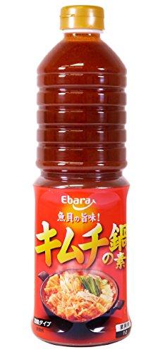 エバラ キムチ鍋の素 1L×6本