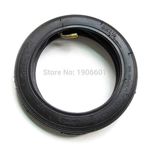 Gratis verzending 8 Inch 8X1 1/4 Scooter Tire & Inner Tube Set gebogen klep Suits A-vouwfiets elektrische/Gas Scooter QINDA band