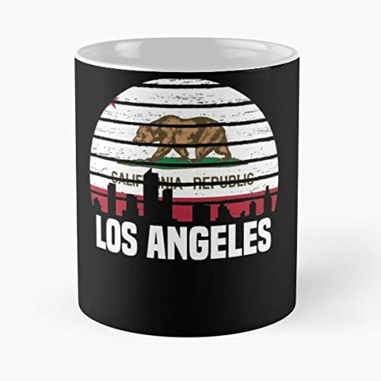 Los Angeles California - Coffee Mugs Unique Ceramic Novelty Cup