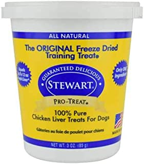 Stewart Freeze Dried Treats 3 oz Chicken Liver