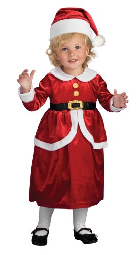 Rubies Lil' Mrs. Claus Children's Costume, Toddler