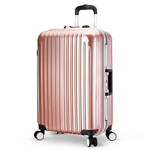 Laptop Case Trolley Bussiness incheckbagage | Grote koffer | 76 cm, 4 wielen, ABS+Polycarbonaat Lichtgewicht Hard Shell met TSA slot, Reistas (wit, 4 kleur)