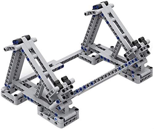 Egrus Soporte de exhibición de 185 Piezas con la Abrazadera elástica para Lego 75105 Milennium Falcon Model Set.