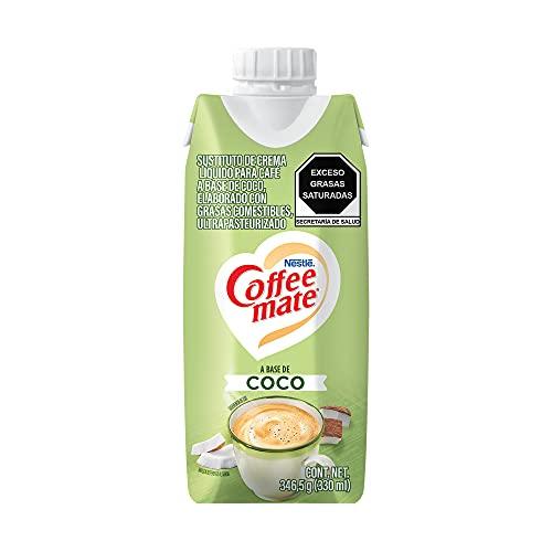 Sustituto de Crema para Café Coffee Mate Líquido Plant Based Coco 330ml