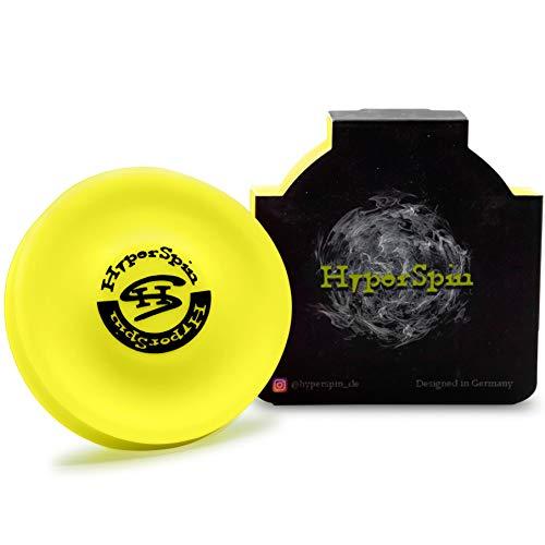 HyperSpin mini-Frisbee - vuela más de 60 metros, de silicona, pequeño disco volador cabe en cualquier bolsillo – por cada uno a