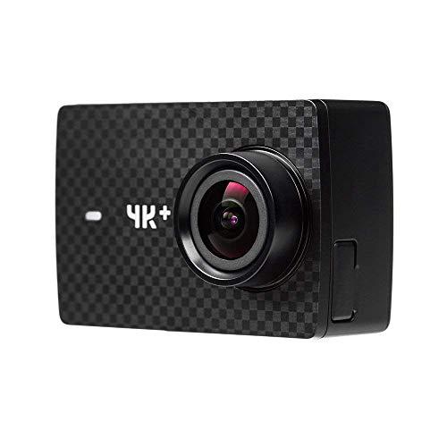 YI 4K Plus Action Camera 4K/60fps Fotocamera 12Mp Sportcamera Touch-Screen 5,56cm Comando Vocale Wifi Bluetooth Grandangolo 155° App per iOS/Android