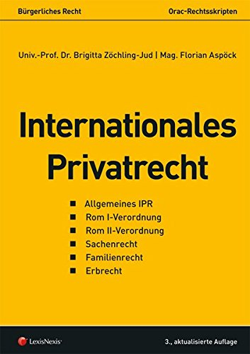 Internationales Privatrecht (Skripten)