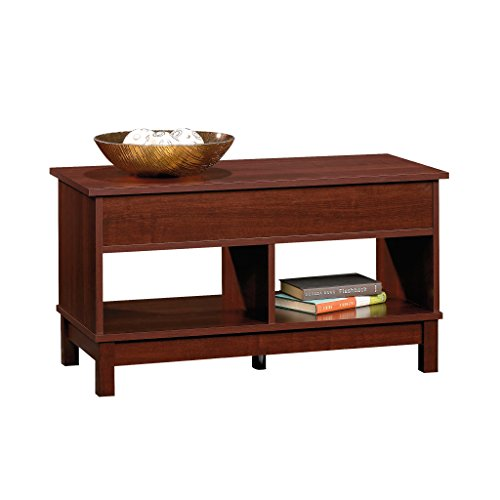 Square Lift Top Coffee Table, Select Cherry