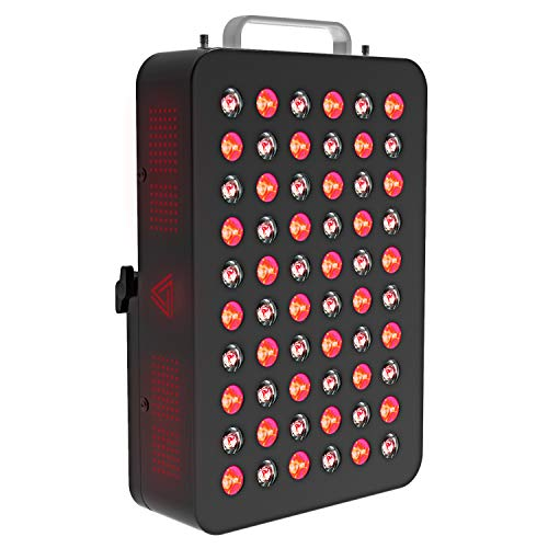 Red Light Therapy Device, 660&850nm FDA Cleared Near Infrared Led Light Therapy, Clinical Grade Home Use Light Therapy Lamp with Timer for Anti-Aging, Pain Relief, Muscle Recovery, Inflammation (100W)