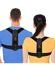 Posture Corrector for Women and Men-2021 New Version SEMIEN Back Braces for Posture Correction Support and Providing Straight from Neck, Back and Shoulder