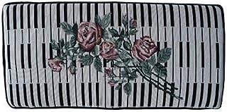 Keyboard and Rose Piano Bench Cushion Pad 14