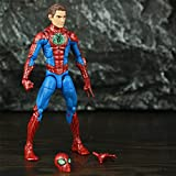 QWYU Figura de acción Spider Deadpool Señora Red Guardian Falcon Negro Viuda Thor Mystique Magneto X Hombres Juguetes Spider 2017 TRU