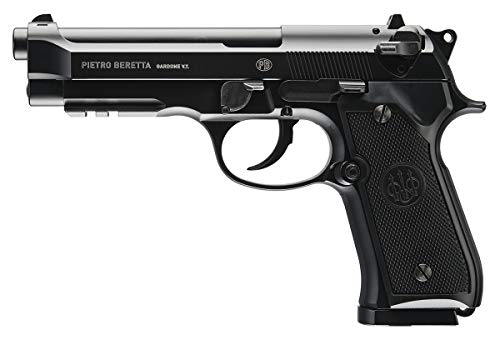 Umarex mens Beretta M92 A1 Blowback Full-Auto .177 Caliber BB Gun Air Pistol, Beretta M92 A1 Air Gun Black, Large