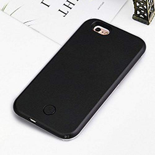 Led Selfie Light Cell Phone Case Great for A Bright Selfie and Facetime Light Up Case Cover for iPhone 6 6S 7 8 Plus X XR XS Max (iPhone 8 Plus)