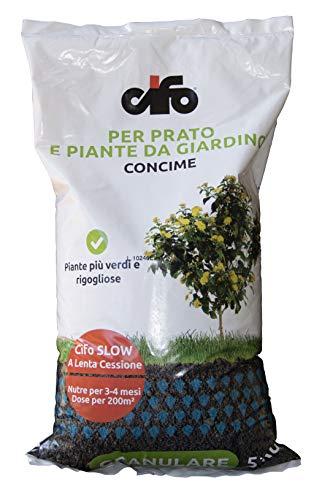 Cifo Concime granulare per prato e piante da giardino 5 kg