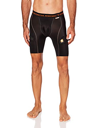 Shock Doctor Compression Shorts with Bio-Flex...