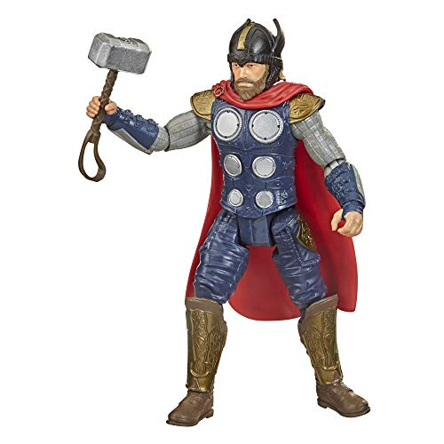 Avengers Hasbro Marvel Gamerverse - Figura de acción de Juguete de Thor War Cry, Inspirado en Videojuegos, a Partir de 4 años