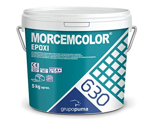 630 Morcemcolor Epoxi RG Blanco: Mortero de colocación y rejuntado epoxi bicomponente...