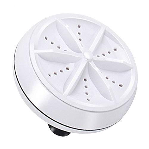 N/V Mini lavadora ultrasónica portátil turbo personal giratorio lavadora conveniente viaje casa negocios viaje usb