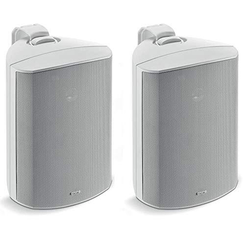 Great Price! Focal 100 OD6 6.5″ Outdoor Loudspeakers, IP66 Rated – White Pair, 2 Speakers